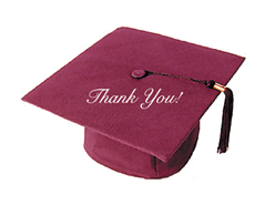 graduation thank you card wording