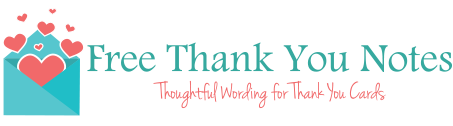 Beautiful Thank You Note Samples Wording For All Occasions